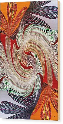 Abstract Fusion 148 Wood Print by Will Borden