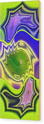Abstract Fusion 157 Wood Print by Will Borden