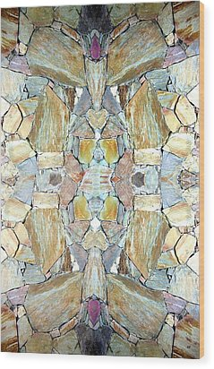 Abstract Fusion 67 Wood Print by Will Borden