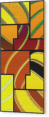 Abstract Fusion 92 Wood Print by Will Borden