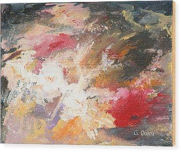 Abstract No 2 Wood Print