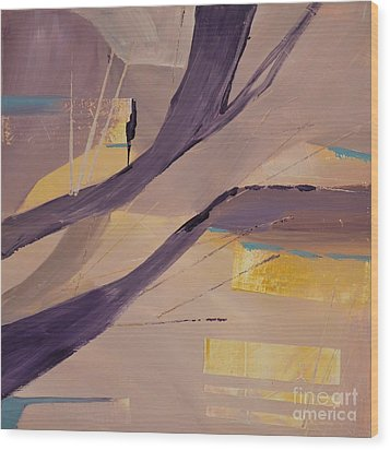 Abstract Orchard Wood Print