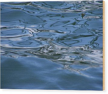 Abstract Waters II Wood Print