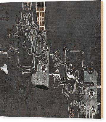 Abstrait En Do Majeur A2 Wood Print by Aimelle