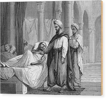 Abulcasis, Islamic Physician Wood Print by
