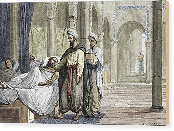 Abulcasis, Islamic Physician Wood Print by Sheila Terry