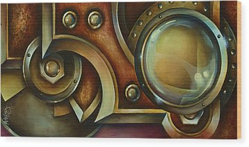'access Denied' Wood Print by Michael Lang