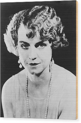 Actress Dorothy King Was A Broadway Wood Print by Everett
