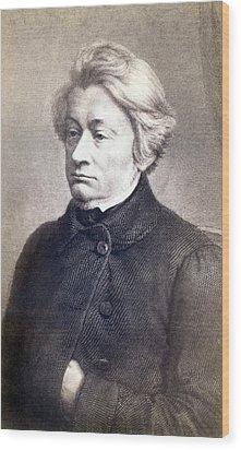 Adam Mickiewicz 1798-1855 Great Polish Wood Print by Everett