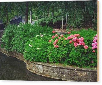 Adare Gardens Wood Print