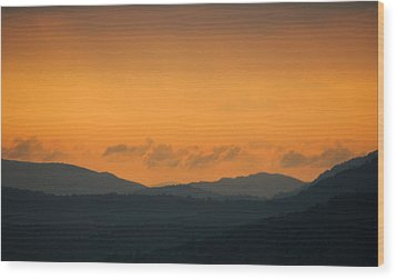 Wood Print featuring the photograph Adirondacks by Steven Richman