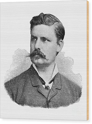 Adolf Eugen Fick, German Physiologist Wood Print by Science Source