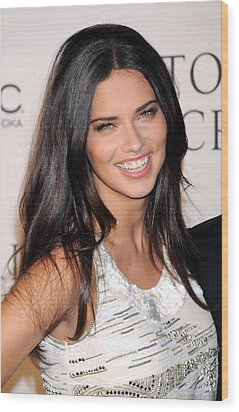 Adriana Lima At Arrivals For 2009 Wood Print by Everett