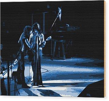 Aerosmith In Spokane 12a Wood Print by Ben Upham