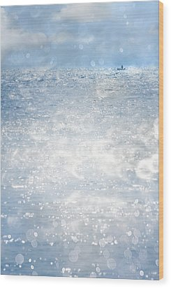 Afloat Wood Print by Richard Piper