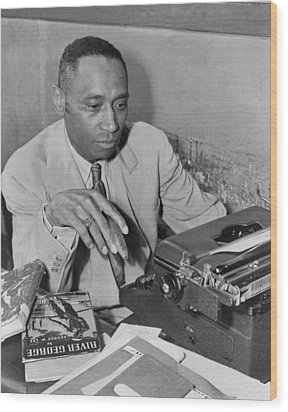 African American Author George Wood Print by Everett