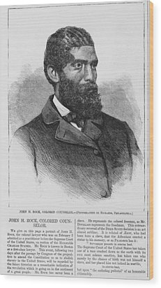 African American Quarters Of The Army Wood Print by Everett