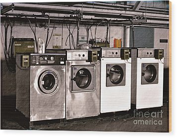 After Enlightenment The Laundry. Wood Print by Gwyn Newcombe