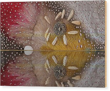 After The Rain Wood Print by Pepita Selles