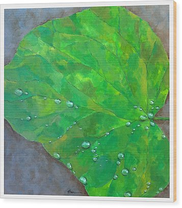 After The Rain Wood Print by Thomas Dreesen
