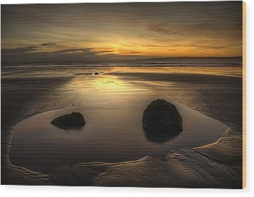 After Tide Out Wood Print by Svetlana Sewell
