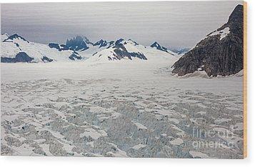 Alaska Frontier Wood Print by Mike Reid