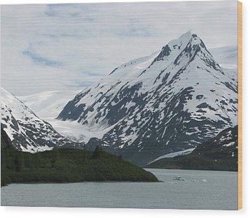 Alaska Scenery Wood Print