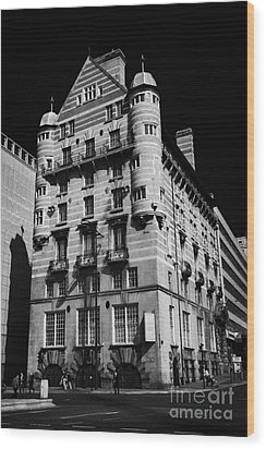 Albion House James Street Liverpool Former Offices Of The White Star Line  Wood Print by Joe Fox