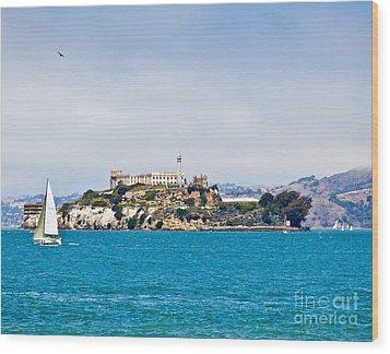 Alcatraz - San Francisco Wood Print