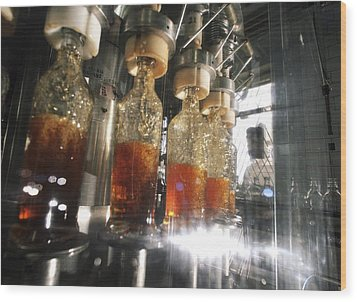 Alcoholic Drinks Production, Russia Wood Print by Ria Novosti