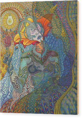 Alegria Wood Print by Ellie Perla