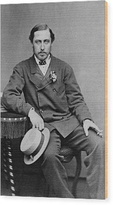 Alfred, Duke Of Saxe-coburg And Gotha Wood Print by Everett