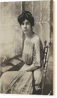 Alice Paul 1885-1977, Protested Wood Print by Everett