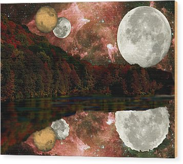 Wood Print featuring the photograph Alien World by Sarah McKoy