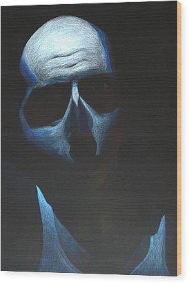 Alive Wood Print by Brandon Baird