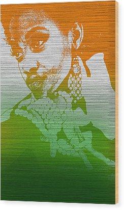 Aliyah Wood Print by Naxart Studio