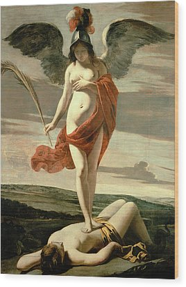 Allegory Of Victory Wood Print by Louis Le Nain