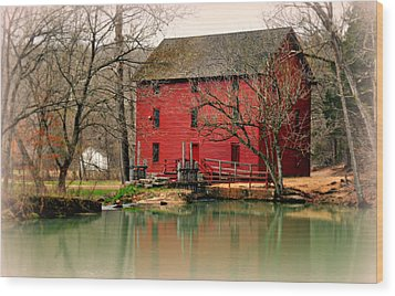 Alley Mill 4 Wood Print by Marty Koch