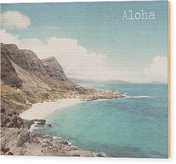 Aloha Wood Print