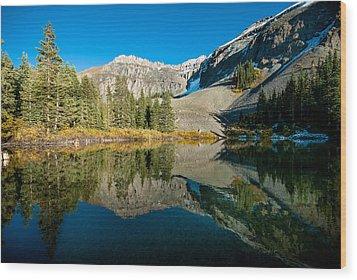 Alta Lakes Wood Print by Josh Whalen