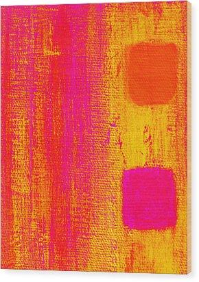 Alternate Feelings Wood Print by James Mancini Heath
