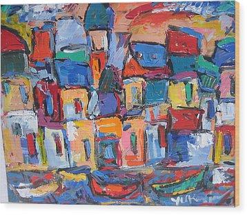 Amalfi 06 Wood Print