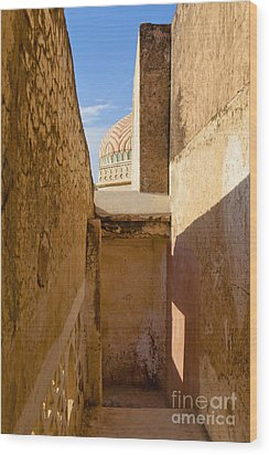 Amber Fort Stairway Wood Print by Inti St. Clair