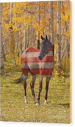 American Bred Wood Print by James BO  Insogna
