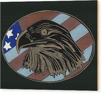 American Independence Day Wood Print by Jim Ross