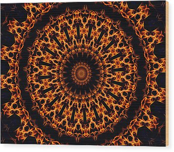Amidi No.2 Wood Print by Danny Lally