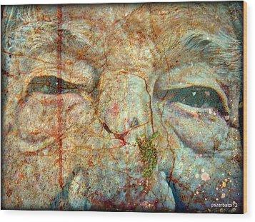 Amore E Sogni Mai Eta Wood Print by Paulo Zerbato