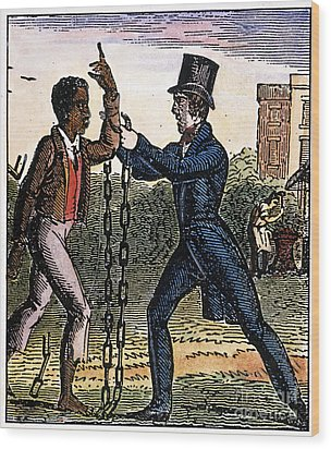 An Abolitionist Wood Print by Granger