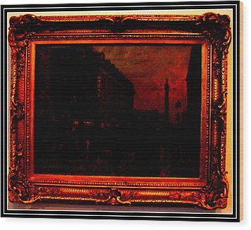 An Antique Wood Print by Anand Swaroop Manchiraju