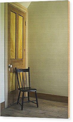 Wood Print featuring the photograph An Austere Life by Chuck De La Rosa